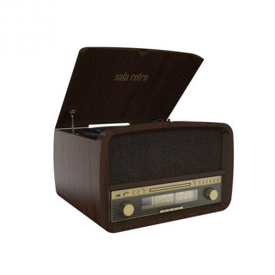 מערכת שמע משולבת פטיפון