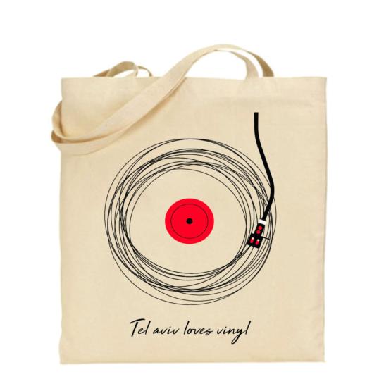 תיק תקליט אדום