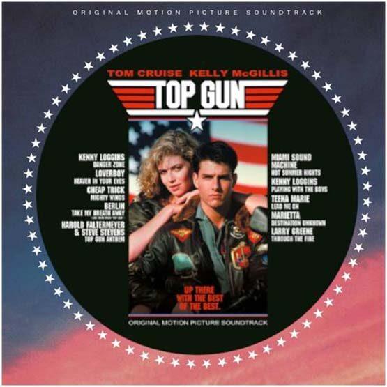 Top Gun - Soundtrack - Limited Picture Disc Vinyl