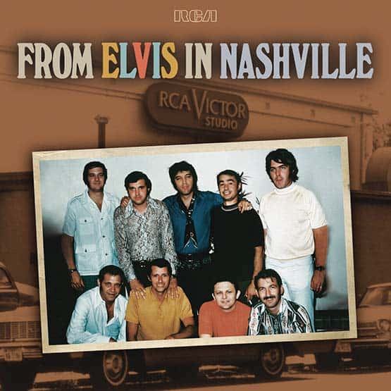 Elvis Presley- From Elvis In Nashville 2LP