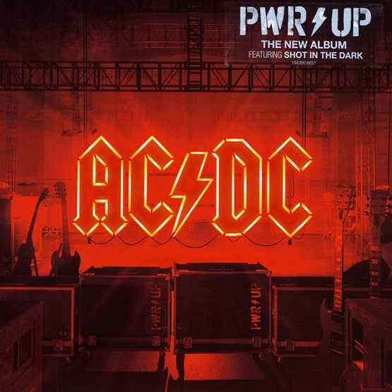 Ac/Dc - Power Up - Opaque Red