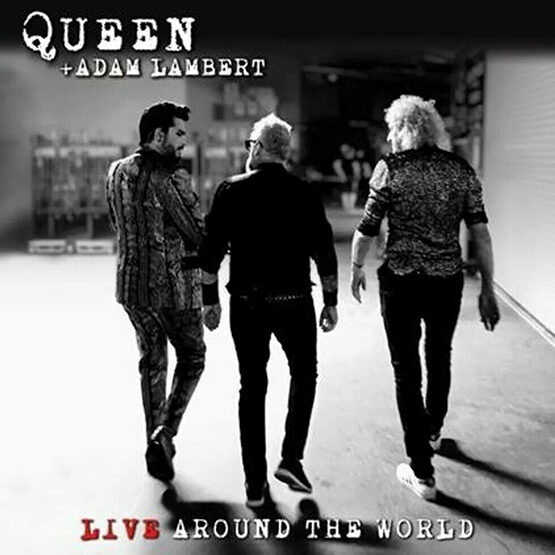Queen + Adam Lambert - Live Around The World 2LP