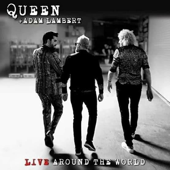 Queen + Adam Lambert - Live Around The World 2LP