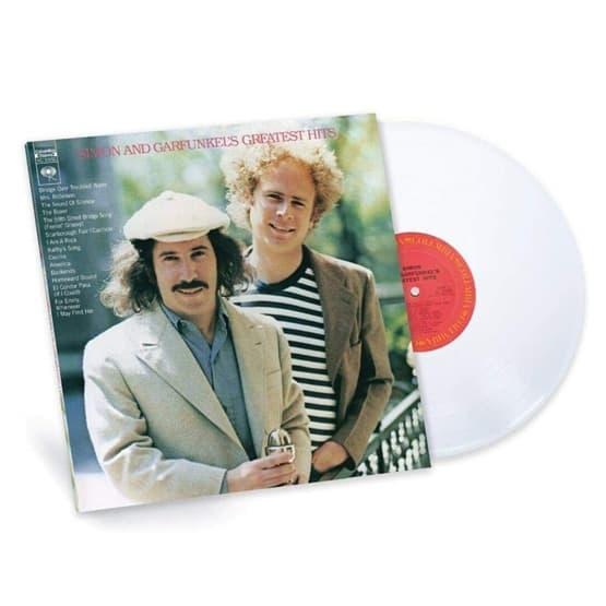 Simon And Garfunkel - Greatest Hits -White Coloured Vinyl
