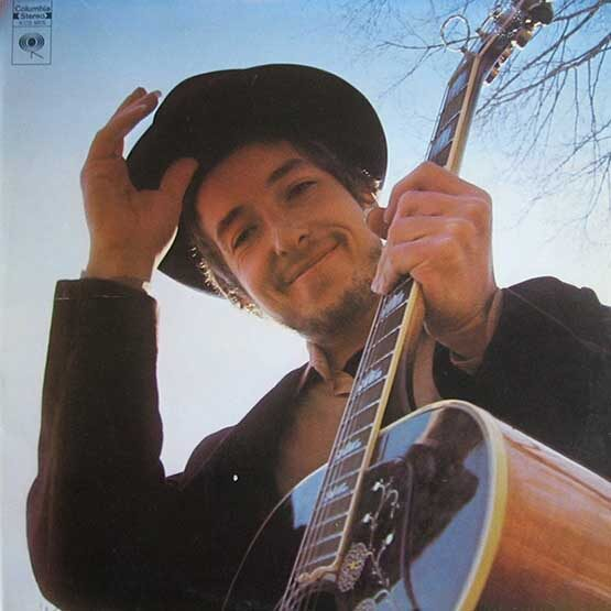 Bob Dylan - Nashville Skyline - Red Vinyl