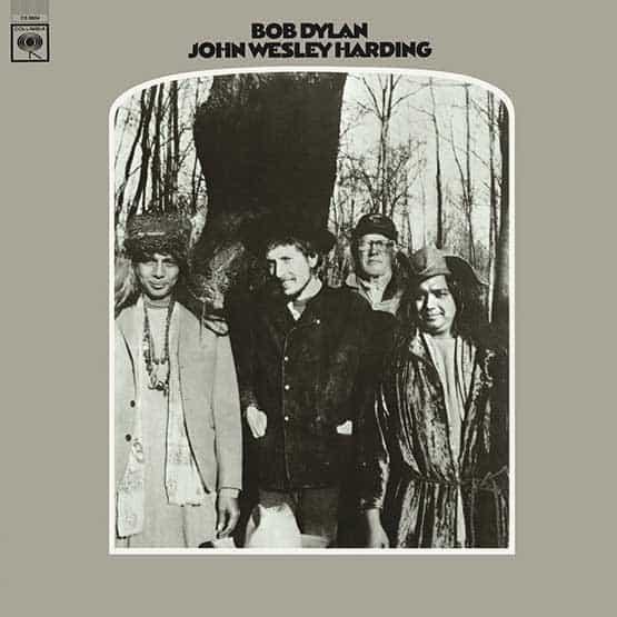 Bob Dylan - John Wesley Harding - White Vinyl