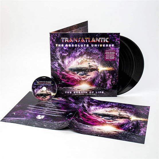 Transatlantic - The Absolute Universe: The Breath Of Life (Abridged Version) 2LP+Cd