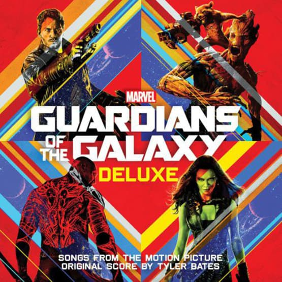 Various Artists - Guardians of the Galaxy Deluxe 2LP