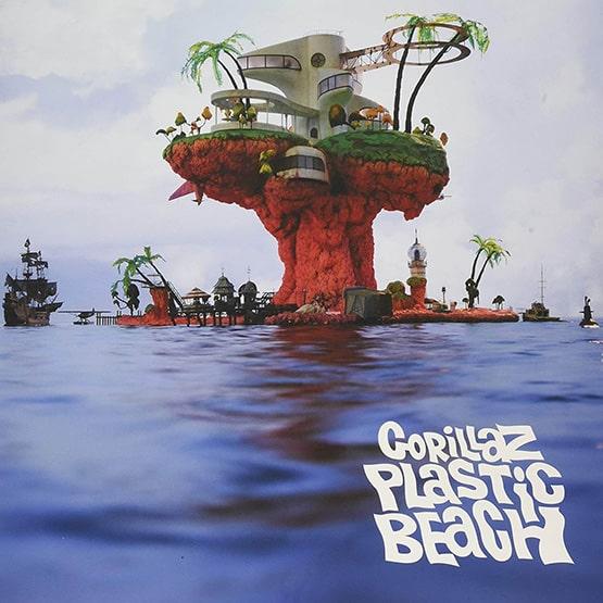 Gorillaz - Plastic Beach 2LP