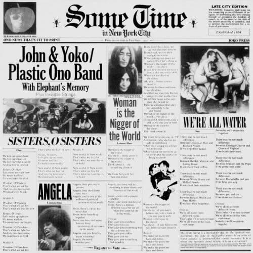 John Lennon & Yoko Ono / Some Time In New York City - Vinyl
