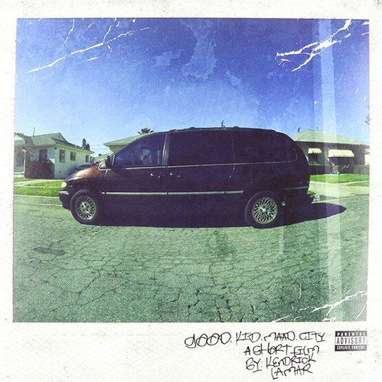 Kendrick Lamar - good kid, m.A.A.d city 2LP