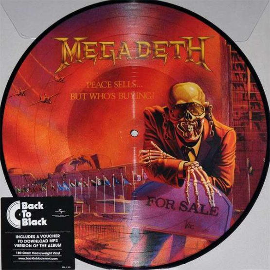Megadeth / Peace Sells...But Who's Buying?