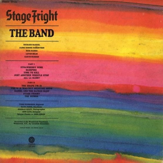 The Band / Stage Fright