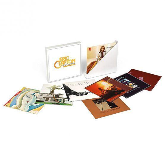 Eric Clapton / The Studio Album Collection 1970-1981 - Vinyl Box Set