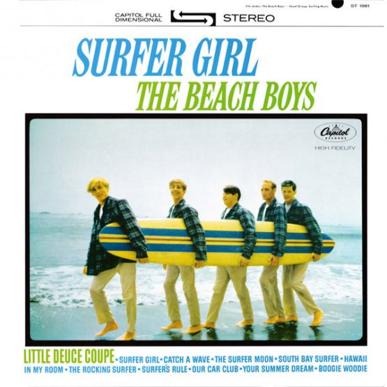The Beach Boys / Surfer Girl