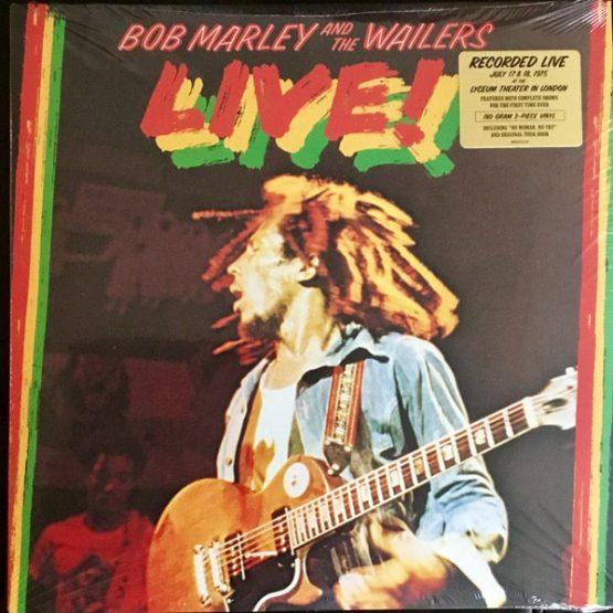 Bob Marley & The Wailers / Live!