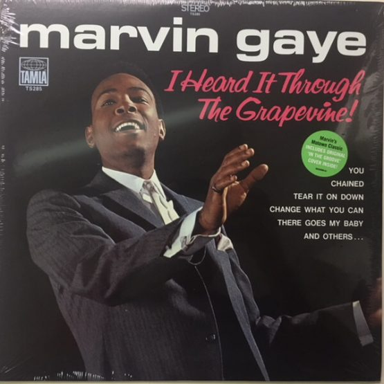 Marvin Gaye / I Heard It Through The Grapevine!