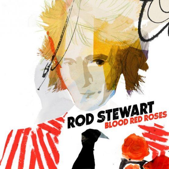 Rod Stewart / Blood Red Roses - Vinyl