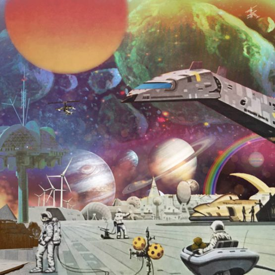Various Artists / Moon Rocks: Extraplanetary Funk, Space Disco, and Galactic Boogie