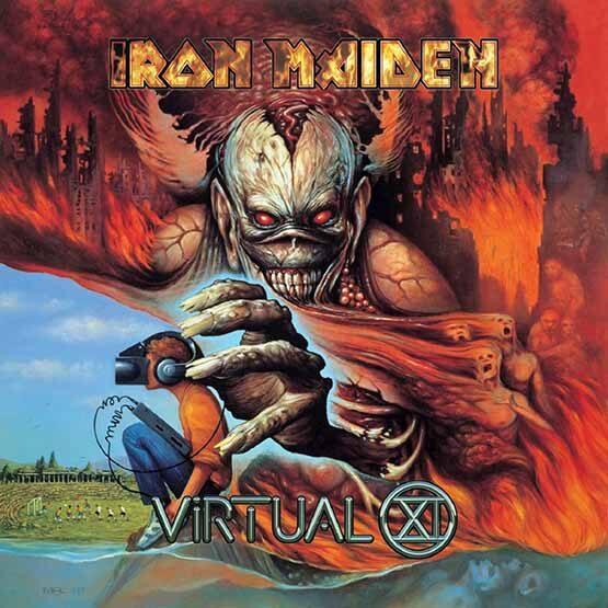 Iron Maiden - Virtual Xi 2LP