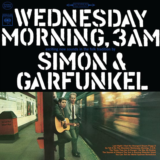 Simon And Garfunkel - Wednesday Morning 3Am