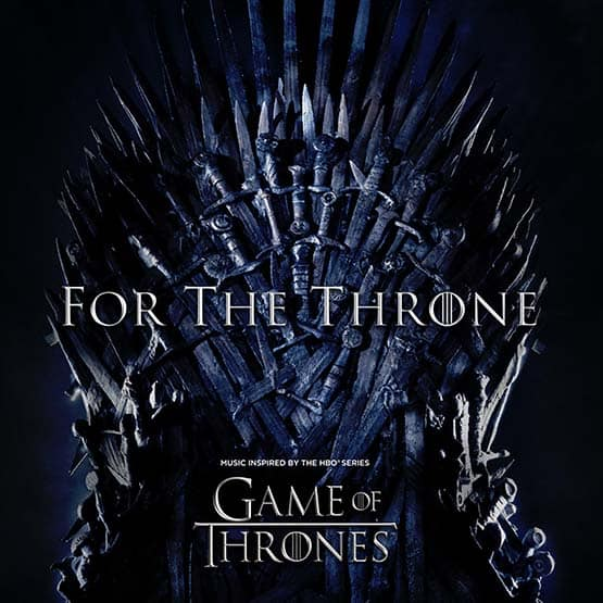 Various Artists -  For The Throne -Music Inspired By The Hbo Series Game Of Thrones Colored Vinyl