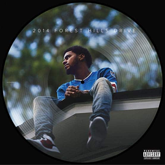 J Cole - 2014 Forest Hills Drive - Picture Disc - 12 Inch Maxi-Single Vinyl - Rsd