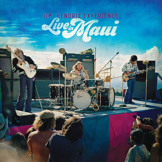 Jimi Hendrix  Experience - Live In Maui - 3Lps + Blu Ray