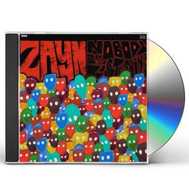 Zayn - Nobody Is Listening CD