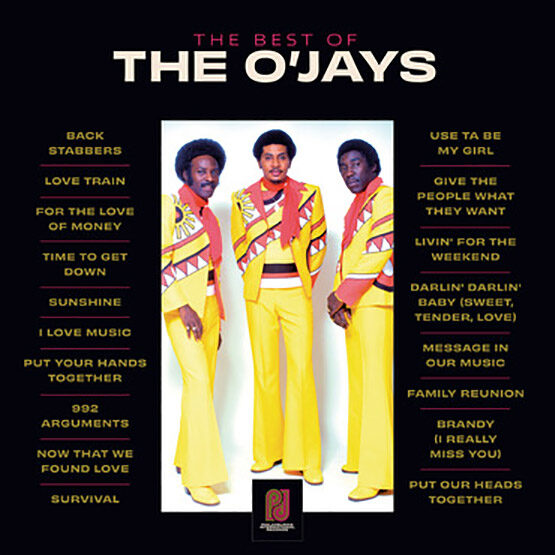 O`Jays,The - The Best Of The O'Jays 2LP