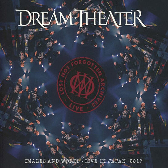 Dream Theater - Lost Not Forgotten Archives: Images And Words - Live In Japan 2017 2LP+CD Limited Edition Transparent Turquoise Vinyl