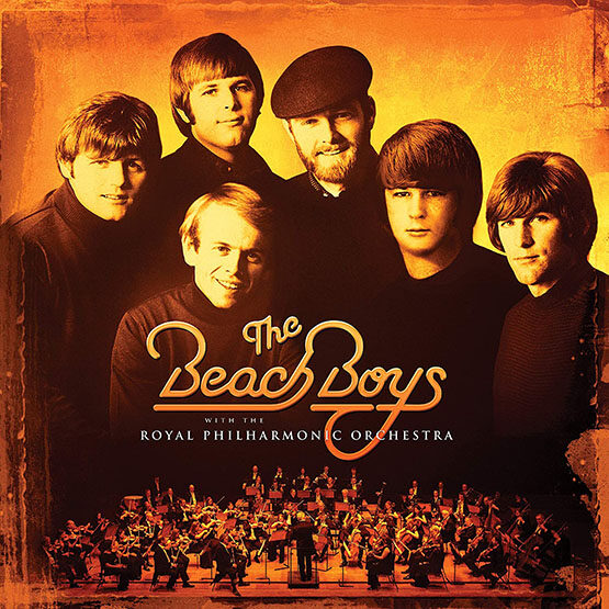 The Beach Boys - With The Royal Philharmonic Orchestra 2LP