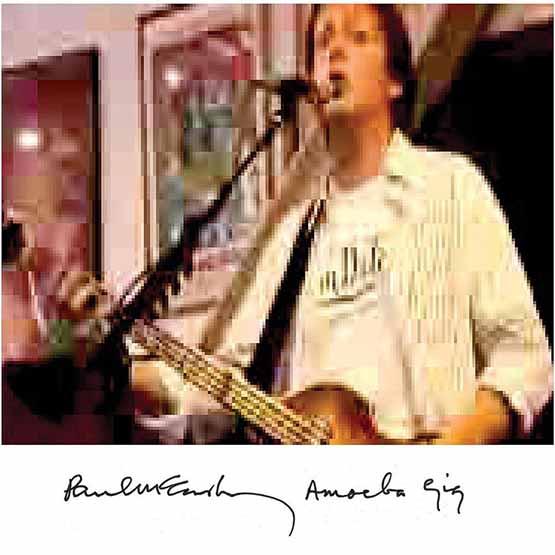 Paul Mccartney - Amoeba Gig 2LP