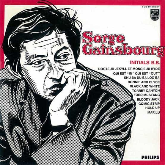 Serge Gainsbourg - Initials B.B