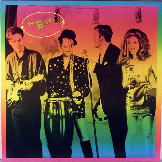 The B52's - Cosmic Thing - Rainbow Colour Vinyl