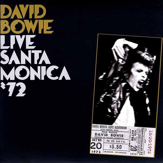 David Bowie - Live Santa Monica 2LP