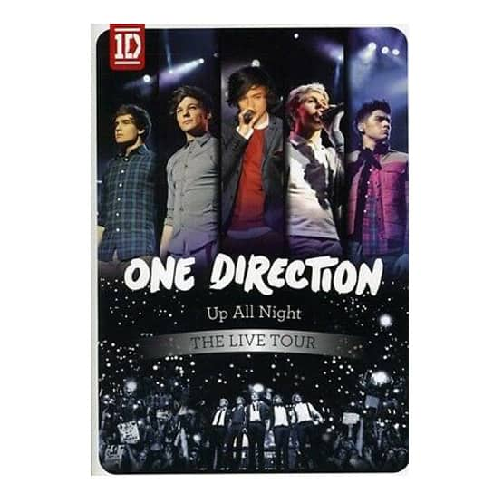 One Direction - Up All Night-The Live Tour DVD