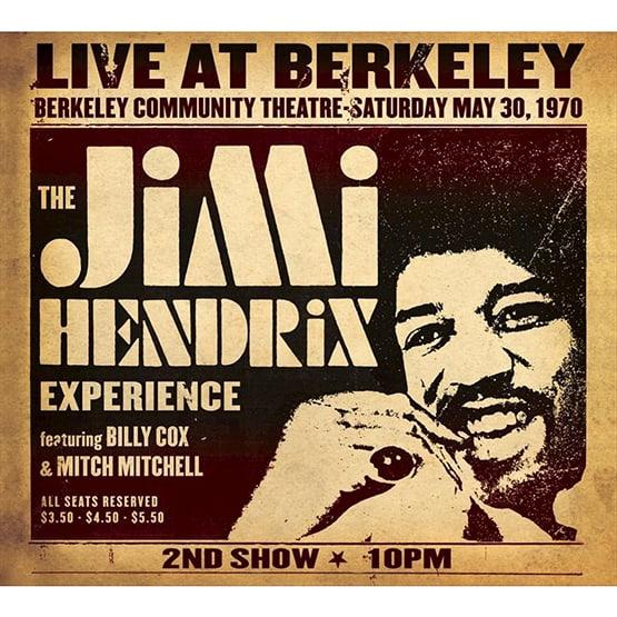 Jimi Hendrixi Experience - Live At Berkeley -2LP