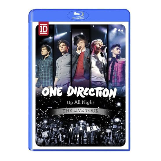 One Direction - Up All Night-Blu Ray DVD