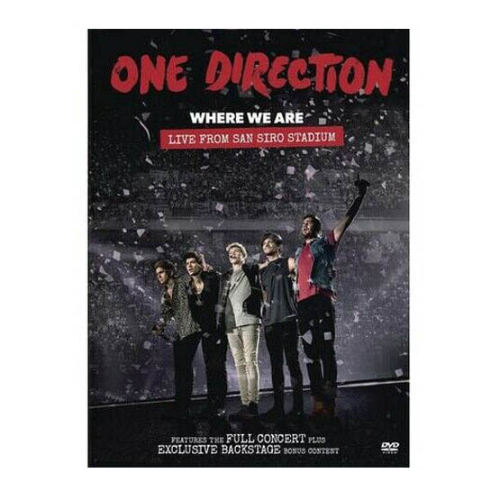 One Direction - Where We Are:Live From San Siro Stadium DVD
