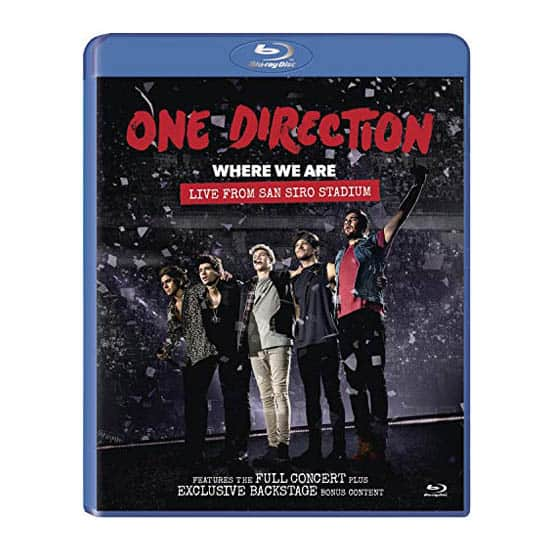 One Direction - Where We Are:Live From San Siro Stadium-Blu Ray DVD