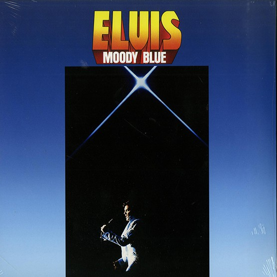 Elvis Presley - Moody Blue-40Th Anniversary Clear Blue