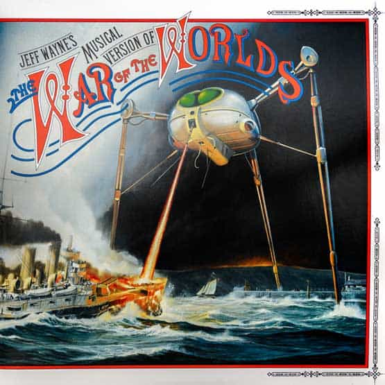 Jeff  Wayne- Musical Version Of The War Of The Worlds -2LP