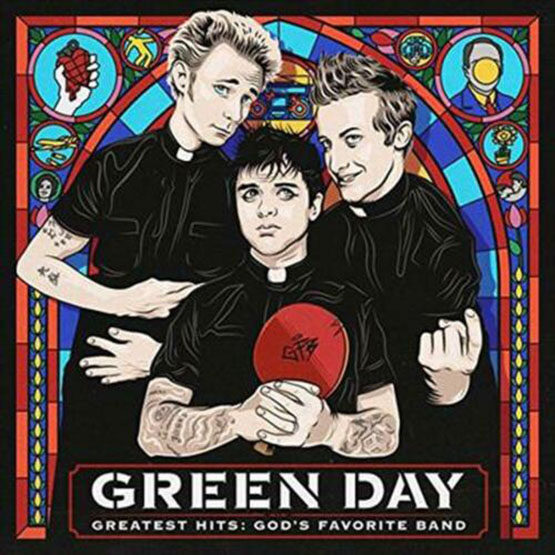 Green Day - Greatest Hits:Green 2LP