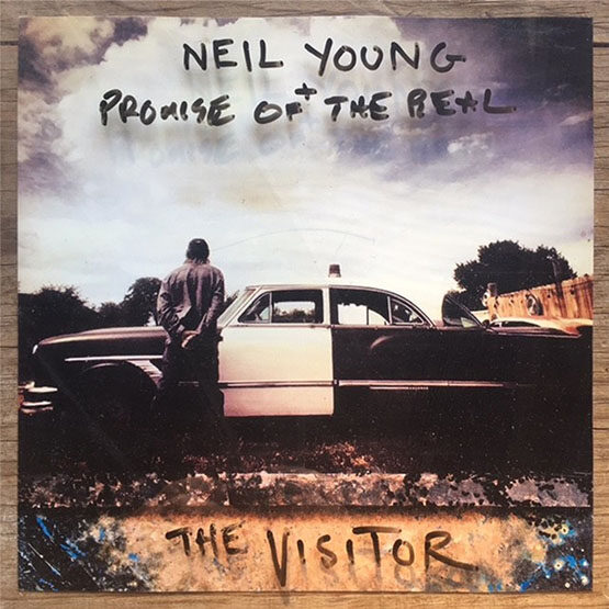 Neil Young - The Visitor 2LP